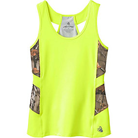 Ladies Broadhead Big Game Camo Performance Tank