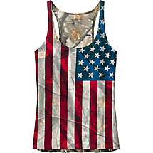 Ladies Big Game Camo Nation Tank Top at Legendary Whitetails