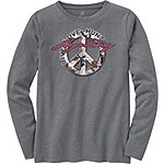 Ladies Harmony Long Sleeve Crew T-Shirt