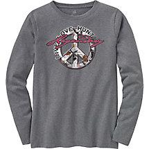 Ladies Harmony Long Sleeve Crew T-Shirt at Legendary Whitetails