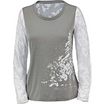 Ladies Trail Edge Big Game Camo Long Sleeve Shirt