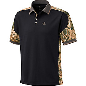 Mens Camo Short Sleeve Pro Hunter Performance Polo