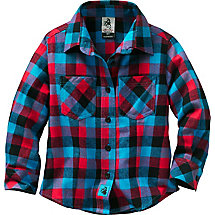 Toddler Girls North Woods Retreat Plaid Flannel at Legendary Whitetails