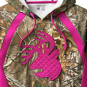Ladies Signature Series II Camo Hoodie