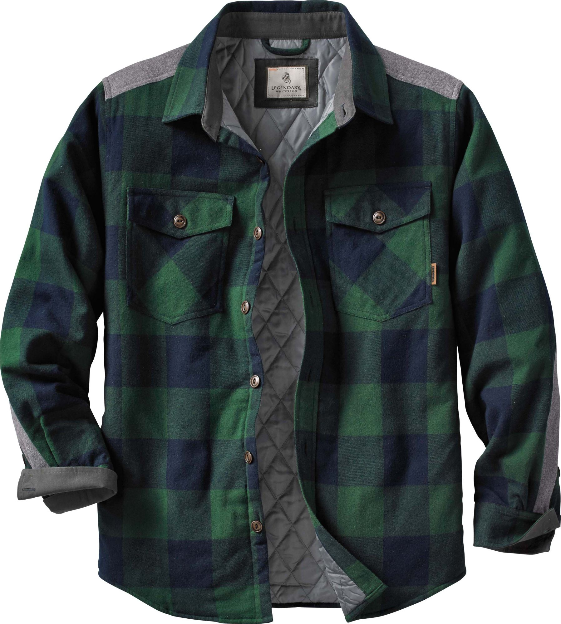 Woodsman Quilted Shirt Jacket Legendary Whitetails