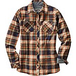 Ladies Cottage Escape Plaid Flannel Shirt