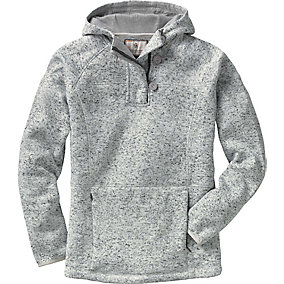 Ladies Atomic Fleece ¼  Zip Hoodie