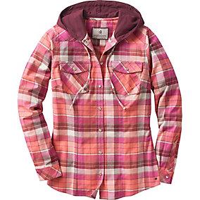 Ladies Lumber Jane Hooded Flannel