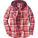 Ladies Lumber Jane Hooded Flannel