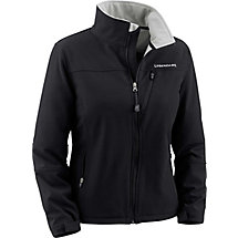 Womens Full Zip Metric II Black Softshell Jacket at Legendary Whitetails