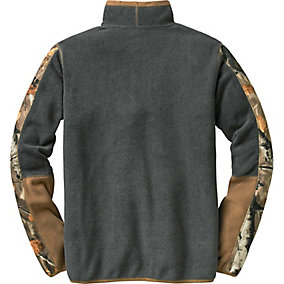 Ladies Highlander Camo Trim ¼ Zip
