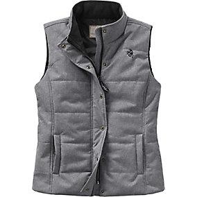 Ladies Vortex Lined Charcoal Vest