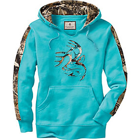 Ladies Big Game Camo Outfitter Hoodie