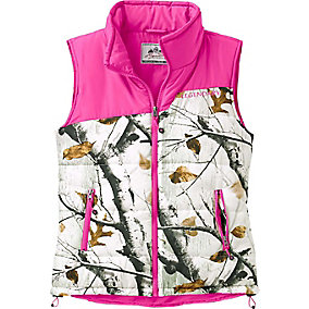 Ladies Big Game Snow Camo Hightail Outfitter Vest
