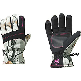 Ladies Snowdrift Big Game Camo Gloves