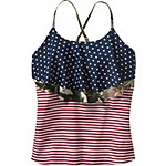Ladies True to Roots Tankini Top