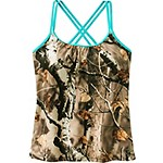 Ladies Big Game Camo Oasis Tankini Top