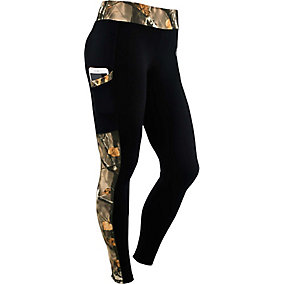 Ladies Driven Performance Big Game Camo Leggings