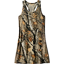 Ladies Birchwood Big Game Camo Tank Dress at Legendary Whitetails