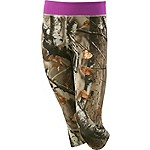 Girls Dedication Performance Camo Capris