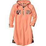 Ladies Coral Reef Swim Cover-Up Camo Dress