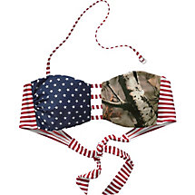 Ladies True To Roots Bandeau Bikini Camo Top at Legendary Whitetails
