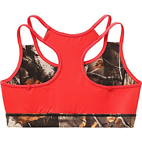 Ladies Big Game Camo Stadium Reversible Sports Bra