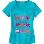 Ladies Trophy Buck V-Neck Lounge Top