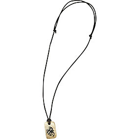 Signature Buck Authentic Antler Necklace