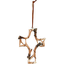 Deer Antler Cross Ornament at Legendary Whitetails