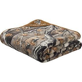 XL Big Game Field Camo Fleece Blanket