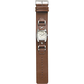 Ladies Genuine Leather Explorer Watch