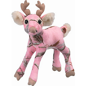 Camo Wild Whitetail Plush Deer