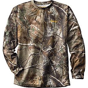 Elimitick  Realtree Camo Long Sleeve Tech Shirt