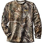 Elimitick  Realtree Camo Long Sleeve Tech Shirt