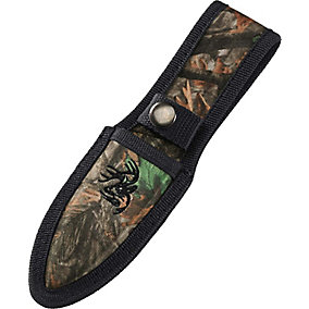 Outfitter II Black Camo Hunting Knife