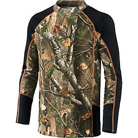 HuntGuard® Nanotec Base Layer Mock Neck Shirt