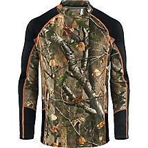 HuntGuard® Nanotec Base Layer Mock Neck Shirt at Legendary Whitetails