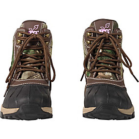 Ladies Realtree Camo Denver Workwear Hikers