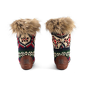 Ladies Lodge Slipper Boots
