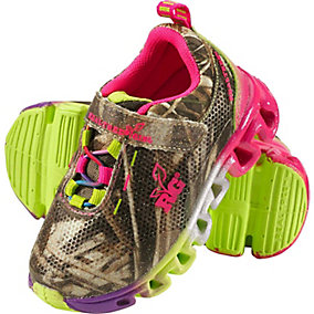 Infant & Toddler Camo Lil Butterfly Light-Up Shoes