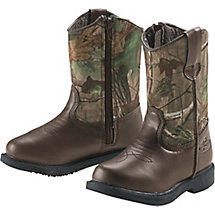 Boys Realtree Dustin Jr Cowboy Boots at Legendary Whitetails