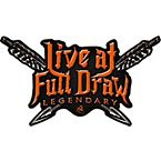 Live at Full Draw Truck Window Decal at Legendary Whitetails