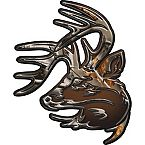 Legendary Truck Buck Window Decal at Legendary Whitetails