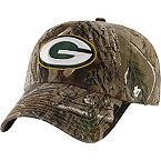 Green Bay Packers Realtree Camo Clean Up Cap at Legendary Whitetails