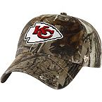 Kansas City Chiefs Realtree Camo Clean Up Cap at Legendary Whitetails