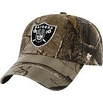 Oakland Raiders Realtree Camo Clean Up Cap at Legendary Whitetails