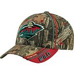 Minnesota Wild Mossy Oak Camo NHL Slash Cap at Legendary Whitetails