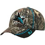 San Jose Sharks Mossy Oak Camo NHL Slash Cap at Legendary Whitetails