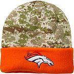 Denver Broncos NFL Camo Knit Hat at Legendary Whitetails